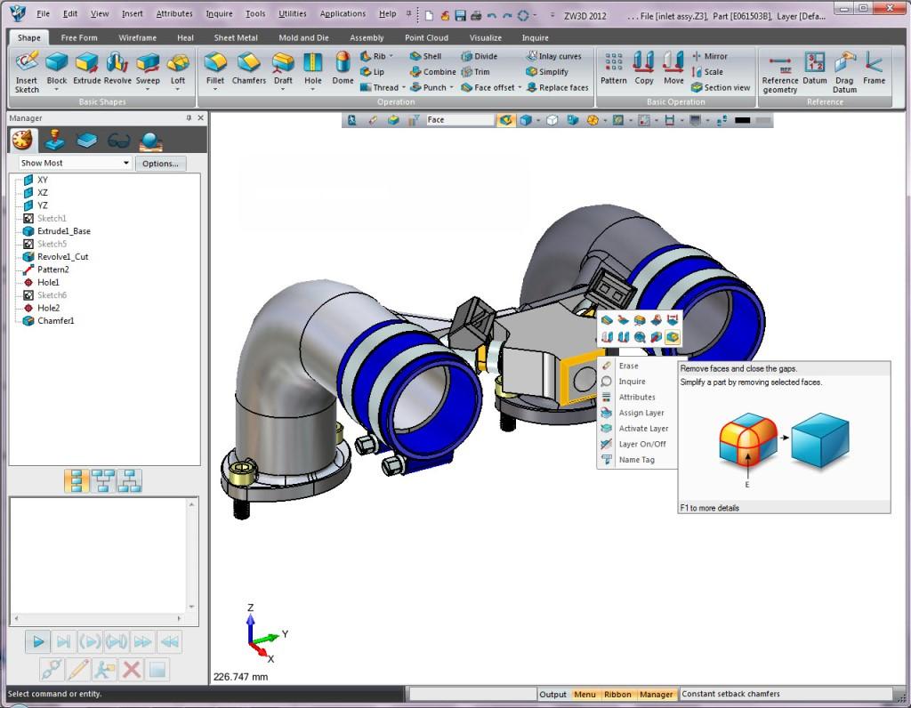 ZW3D - Výhodné CAD/CAM řešení